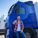Промоция на акумулатори 10 - мъж до камион