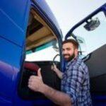 Промоция на акумулатори 11 - мъж до камион