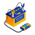 Стартерни устройства 11 - картинка на акумулатор